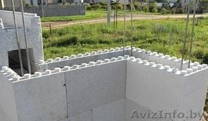 Несъемная опалубка из пенопласта для возведения стен здания. - Изображение #1, Объявление #939571