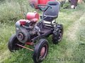самодельный малогабаритный трактор