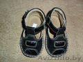 черные сандалии для мальчика