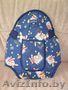 сумка-кенгуру синего цвета
