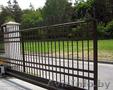 Изготовление и установка откатных ворот!