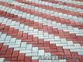 Укладка тротуарной плитки, установка бордюров